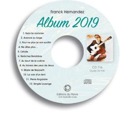 Bonne nouvelle ! sortie d'un nouvel album de notre frère Franck HERNANDEZ Fcd716